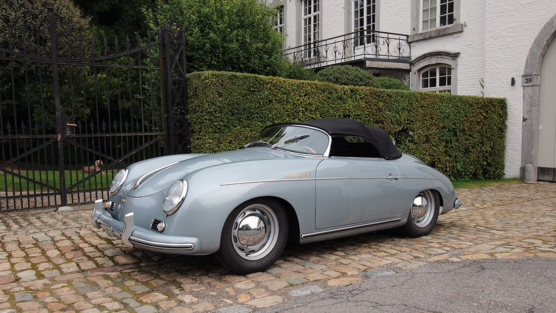martin k lnberger classic cars porsche 356 pre a speedster. Black Bedroom Furniture Sets. Home Design Ideas